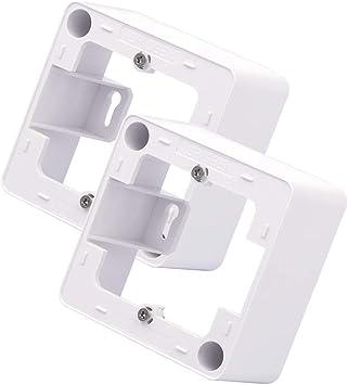 VCE 2 piezas Caja de montaje en superficie para placa frontal ...