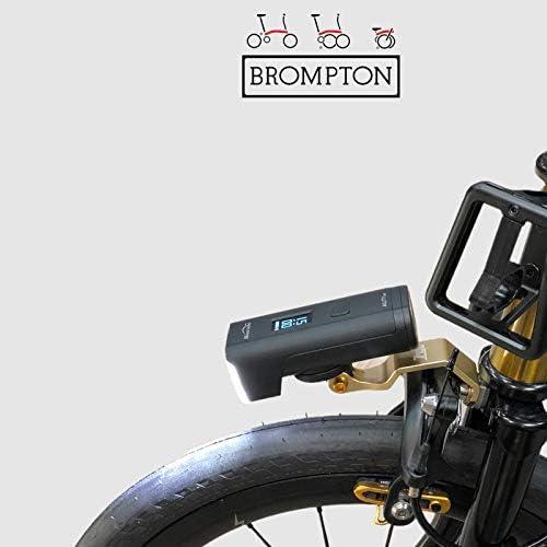 Trigo Bicicleta Faro Delantero Soporte para Brompton Cateye GOPRO ...