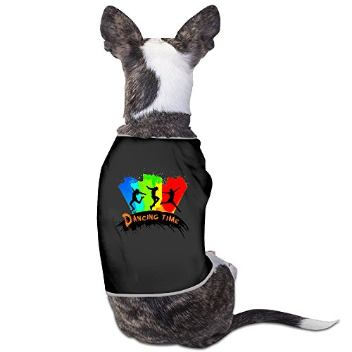 [Personalize Pet Custume Zumba,Dancing Time For Dogs Cats 100% Polyester] (Costumes Halloween Yahoo)