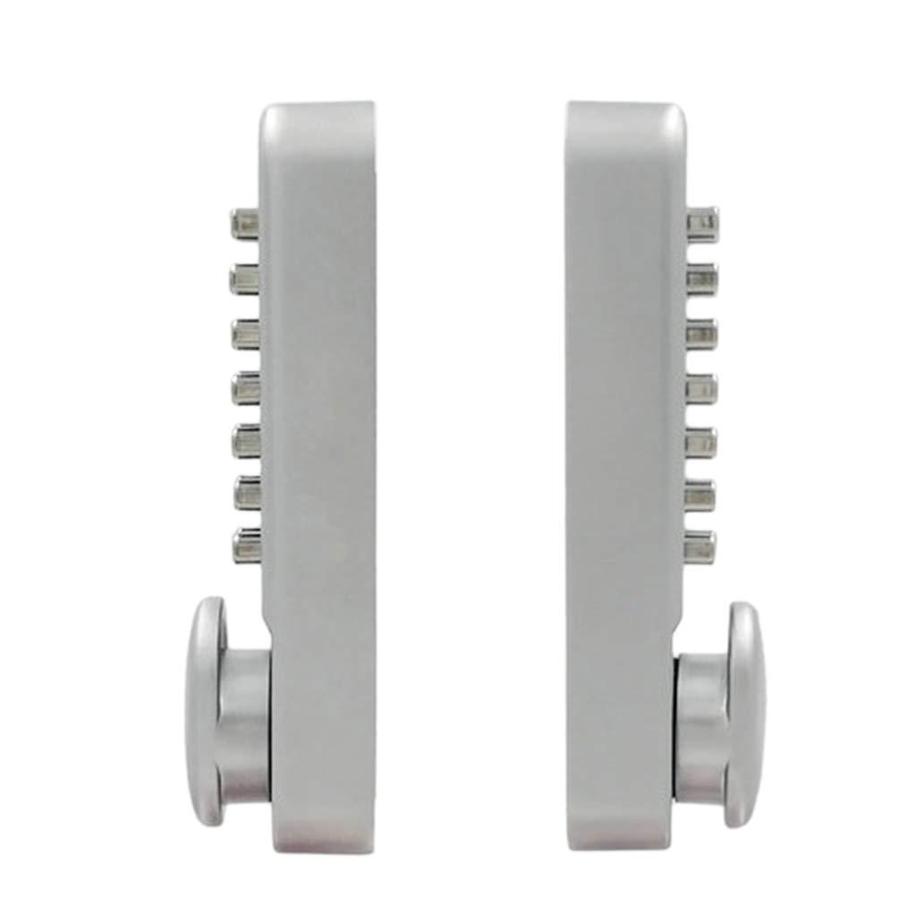 B Blesiya 32-60mm Wooden Courtyard Patio Door Code Lock Keyless Password Combination Locking Indoor Outdoor Mechanical Structure Channel Function by B Blesiya (Image #5)