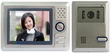DXMドアベル 手の動きのアラーム機能付き多機能5インチのハンズフリーカラービデオドア電話システム