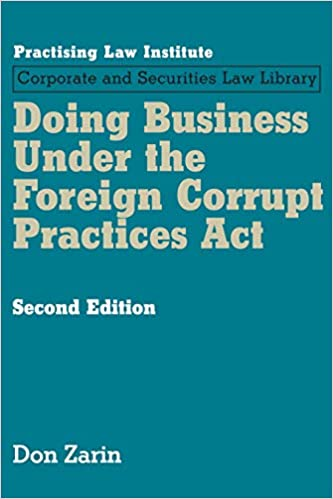 Doing Business Under The Foreign Corrupt Practice Act