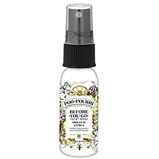 Poo-Pourri Before-You-go Toilet Spray, Original Citrus Scent, 1 Fl Oz