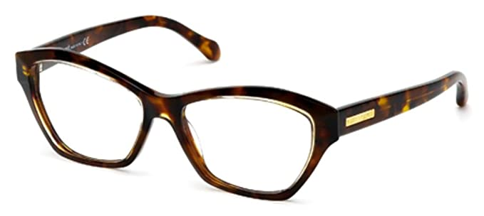 Roberto Cavalli Women\'s RC0757 Acetate Frames BROWN 55 at Amazon ...