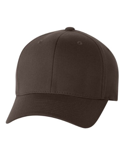 Flexfit Men's Athletic Baseball Fitted Cap, Coyote Brown, L/XL ()