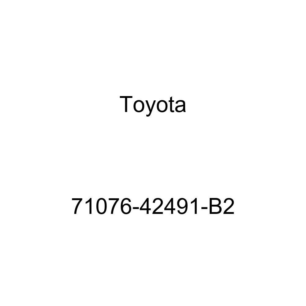 TOYOTA Genuine 71076-42491-B2 Seat Cushion Cover