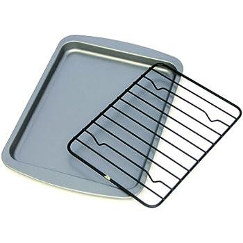 Amazon Com Ovenstuff Non Stick Toaster Oven Cookie Pan