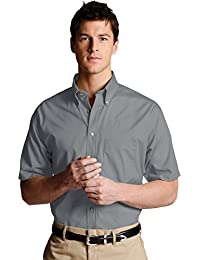 Men's Big and Tall Button Down Poplin Shirt