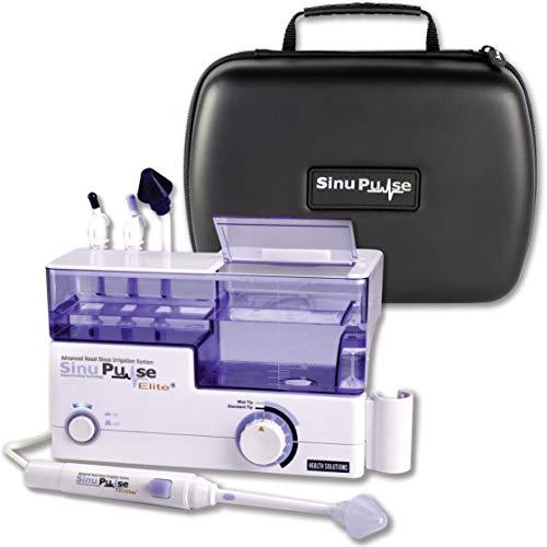 SinuPulse Elite Advanced Nasal Sinus Irrigation System with Deluxe SinuPulse Travel Case