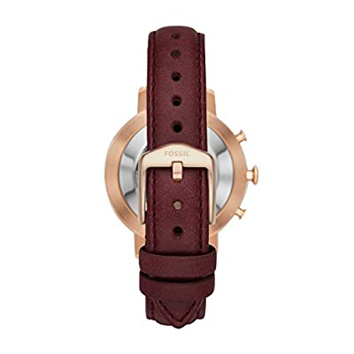 Fossil Hybrid Smartwatch - Q Neely Cabernet Leather FTW5003