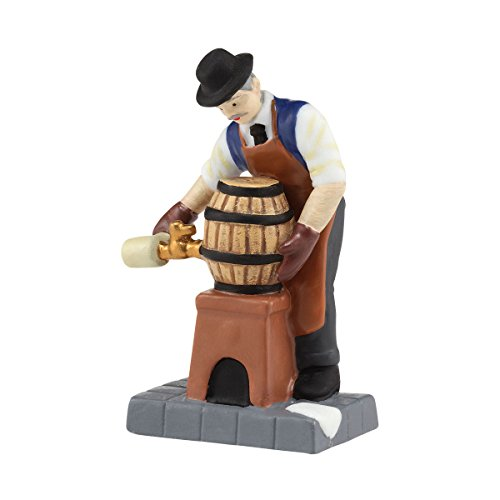 Department 56 Christmas in the City Village Tapping the Keg Accessory Figurine, 0.98 inch by Department 56