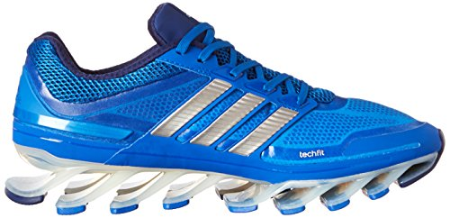 Adidas Springblade scarpa da corsa, blu Solare / argento / nero, 7 Us Blue Beauty / Metallic Silver / Night Blue