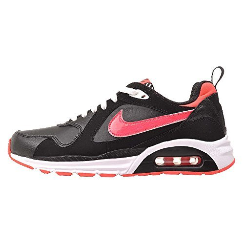 Nike Kids Air Max Trax Gs  Black   Hyper Punch   White  Youth Size 6 5