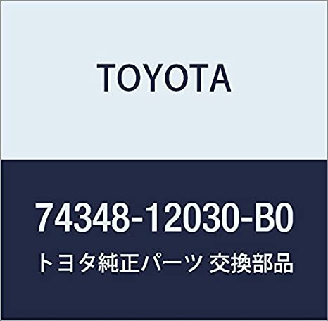TOYOTA Genuine 74348-12030-B0 Visor Holder