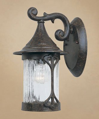 Cheap Designers Fountain 20911-CHN Canyon Lake Wall Lantern, Chestnut