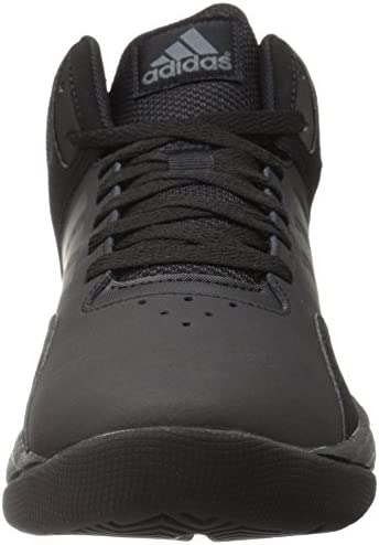 Generalizar de primera categoría Brillante  adidas NEO Men's Cloudfoam Ilation Mid Basketball Shoe, Black/Black/Onix, 7  M US: Buy Online at Best Price in UAE - Amazon.ae