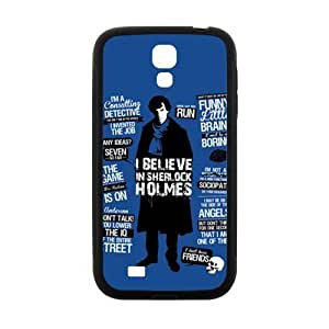 Cool painting Sherlock holms Cell Phone Case for Samsung Galaxy S4