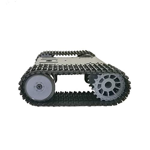 Metal Robot Tracked Car Platform Robotics with Dual DC Motor for Arduino DGJYT 2021 Preminum Smart RC Tank Car Chassis for Arduino//Raspberry pi Robot Learning Kit Track Crawler//Caterpillar