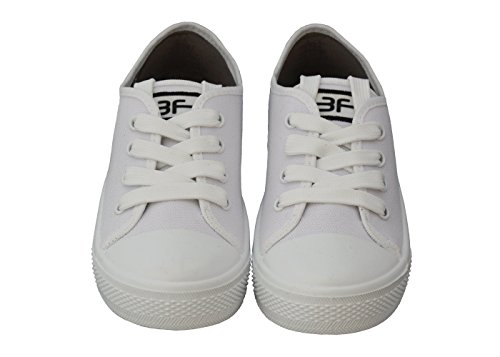 Fitness 31 Femmes Sneakers for amp;Lacets freedom Blanc feet Baskets Taille Chaussures Filles 36 Kids 3f Noir Printemps qYTFwyZ