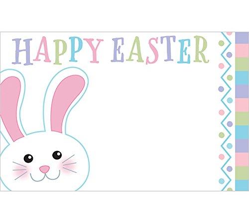 [해외]burton + BURTON 부활절 토끼 파스텔 인클로저 카드, 50 팩/burton + BURTON Easter Bunny Pastel Enclosure Cards, Pack of 50