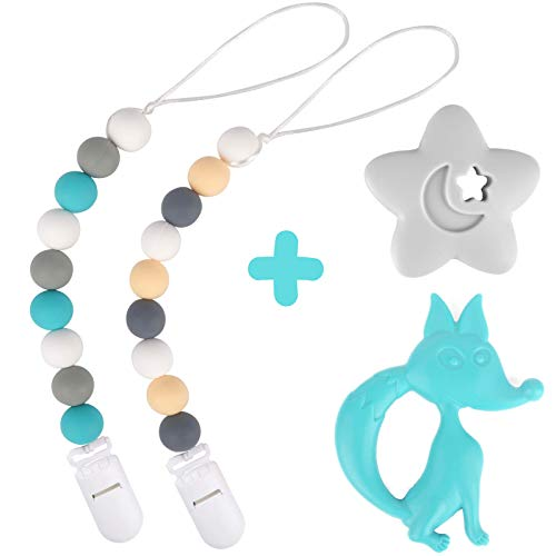 Which is the best silicone teething beads pacifier clip?