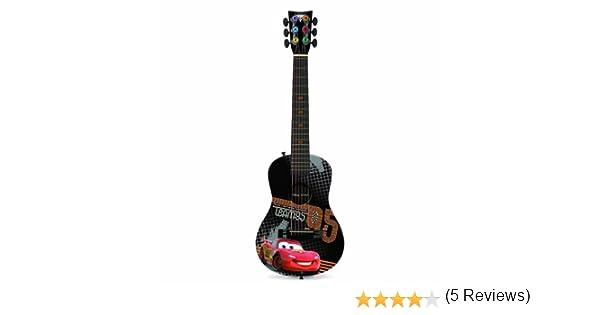 Disney Pixar Cars guitarra acústica – Rayo McQueen: Amazon.es: Instrumentos musicales