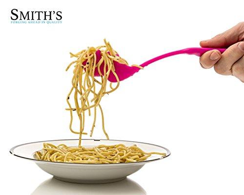 Une cuillère pour les pâtes et les spaghettis en forme de tête de Tyrannosaurus Rex. (Disponible en rose ou en vert) - Pastasaurus - Marque : Smith's