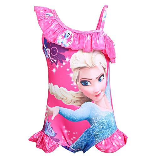 PCLOUD Girls Frozen One-Piece Bathing Suit Swimwear Swimsuit