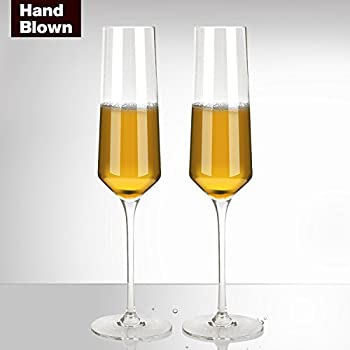 libbey vina trumpet champagne flute set of 6 champagne glasses. Black Bedroom Furniture Sets. Home Design Ideas
