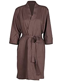 Godsen Women's Plus Size Comfort Cotton Sleepwear Bathrobe
