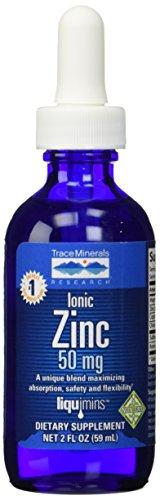 Trace Minerals Research Liquid Ionic, Zinc, 2 (Liquid Ionic Trace Minerals)