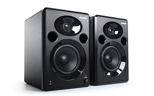 Alesis Elevate 5 MKII Powered Desktop Studio Speakers for Home...