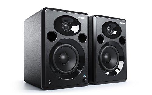 Alesis Elevate 5 MKII - Pareja de altavoces de escritorio y monitores de estudio amplificados, para produccion musical, PC/Mac, multimedia, juegos 80 W