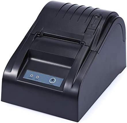Praktische Thermo-Belegdrucker, Kabelloser USB-Thermodrucker, Thermal Line Dot-Thermodrucker Klein und leicht