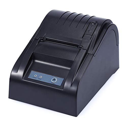 Practical Thermal Receipt Printer, USB Wireless Thermal Printer,Thermal Line Dot System Thermal Printer Small and Light