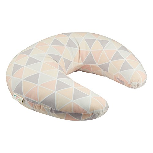 For-Your-Little-One Breast Feeding Maternity Nursing Pillow Geometric Peach