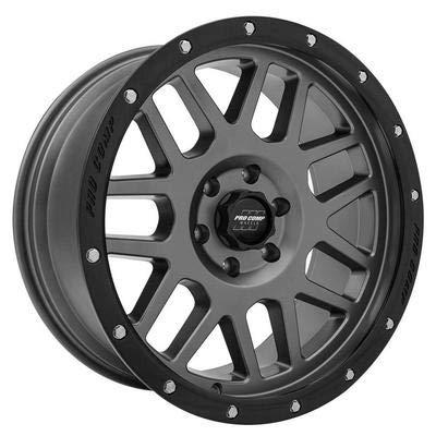 "Pro Comp Alloys Series 40 Vertigo Dark Gray Wheel with Black Lip (17x9""/6x5.5"")"