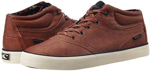 ONeill Mens Psycho Mid Canvas High Top Sneakers / Trainers Cognac