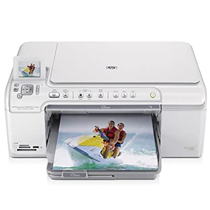 image about Hp Printable identified as : HP Photosmart C5580 All-in just-1 Printer