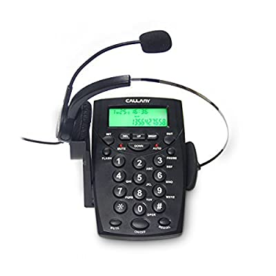 CALLANY Call Center Telephone with Noise Cancellation Headset
