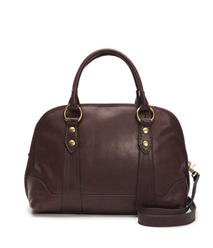 FRYE Melissa Domed Satchel Leather Handbag
