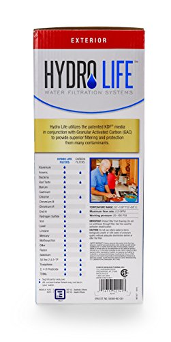 Hydro Life 52141 HL-200 External Filter Kit