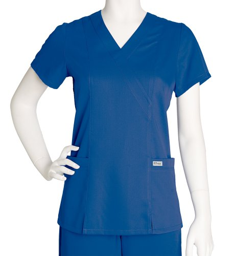 Grey's Anatomy Womens Scrubs, New Royal, X Large