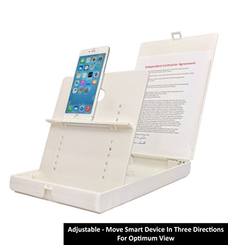 ScanJig – Document Scanning Stand – Phones/Tablets – Basic Model. Adjustable, Precise Image Alignment. Accurate Text Recognition