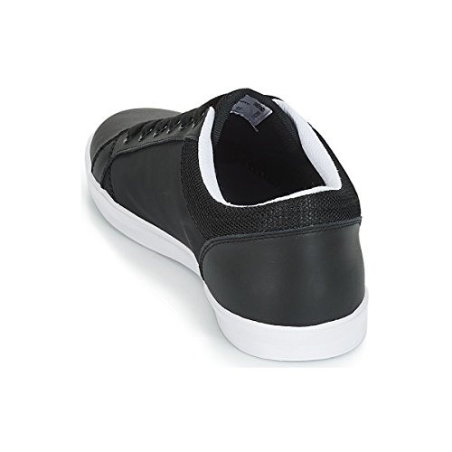 Leather Black Perry Poly Baseline Schwarz Fred qfgtzwfF