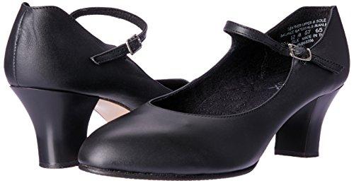 Noir Femmes Character Student Capezio 650 Chaussures Footlight Pour w0OpTxqB