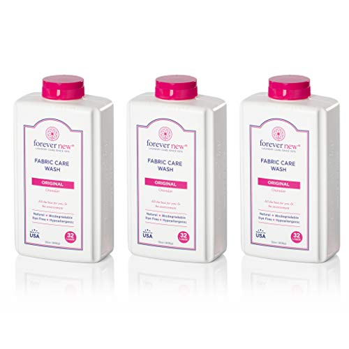 Forever New 32oz Granular Fabric Care Wash 3 Pack (96oz Total) - Natural Laundry Detergent
