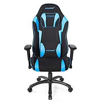 Image of AKRacing Core Series EX-Wide SE Ergonomic Blue Gaming Chair with Wide Seat, 330 Lbs Weight Limit, Rocker and Seat Height Adjustment Mechanisms with 5/10 Warranty Games