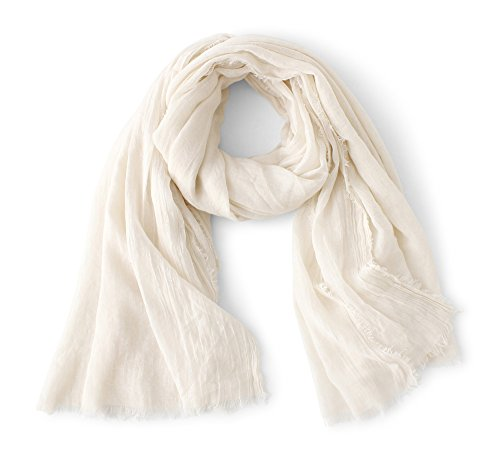 Scarves Fashion Shawls (Cotton Scarf Shawl Wrap Soft Lightweight Scarves And Wraps For Men And Women. (Beige square))