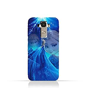 LG G4 Stylus TPU Protective Silicone Case with Frozen Elsa Design